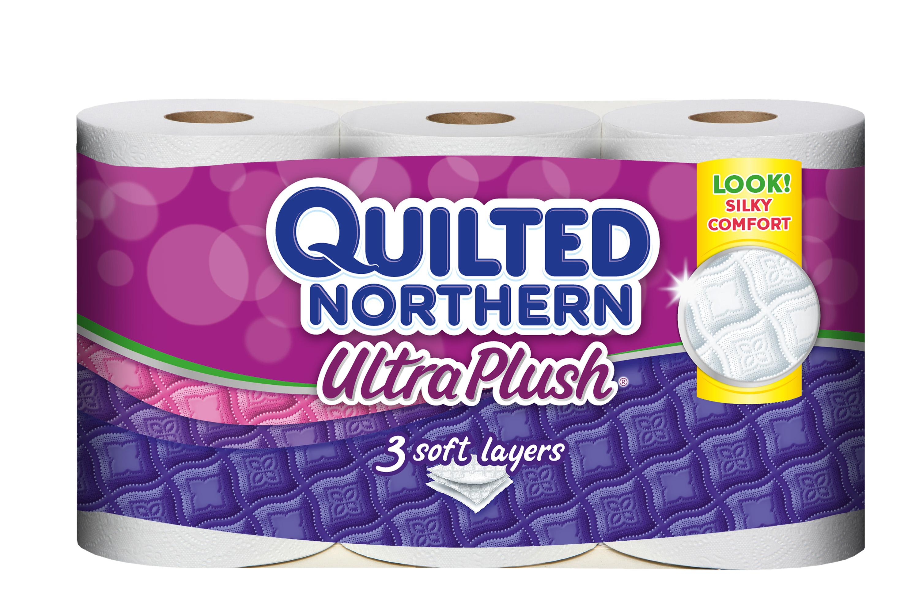 Quilted Northern Ultra Plush toilet paper is Quilted Northern Ultra Plush Toilet Paper, Pack of 12 Double Rolls, Equivalent to 24 Regular Rolls. by Quilted Northern. $ $ 18 99 ($/ Sheets) FREE Shipping on eligible orders. More options available: $ Other Sellers.