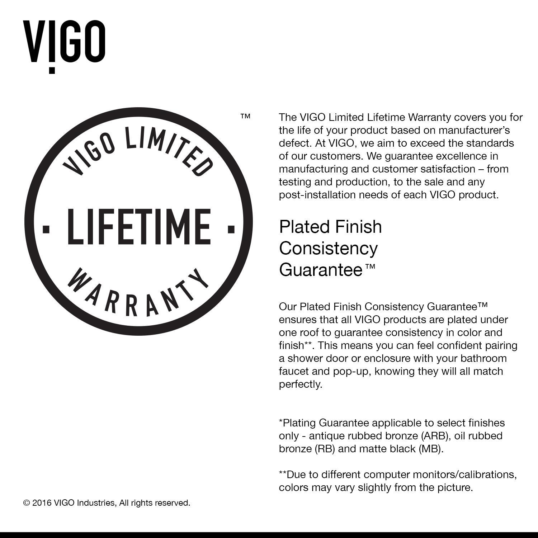 Vigo Shower Base Installation Instructions