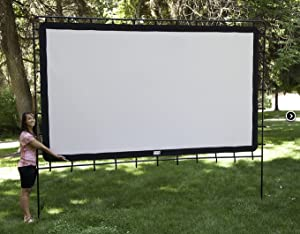 Beau Outdoor Theater Big Movie Screen 144 Inch By Camp Chef