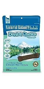 limited ingredient diet dog dental chews