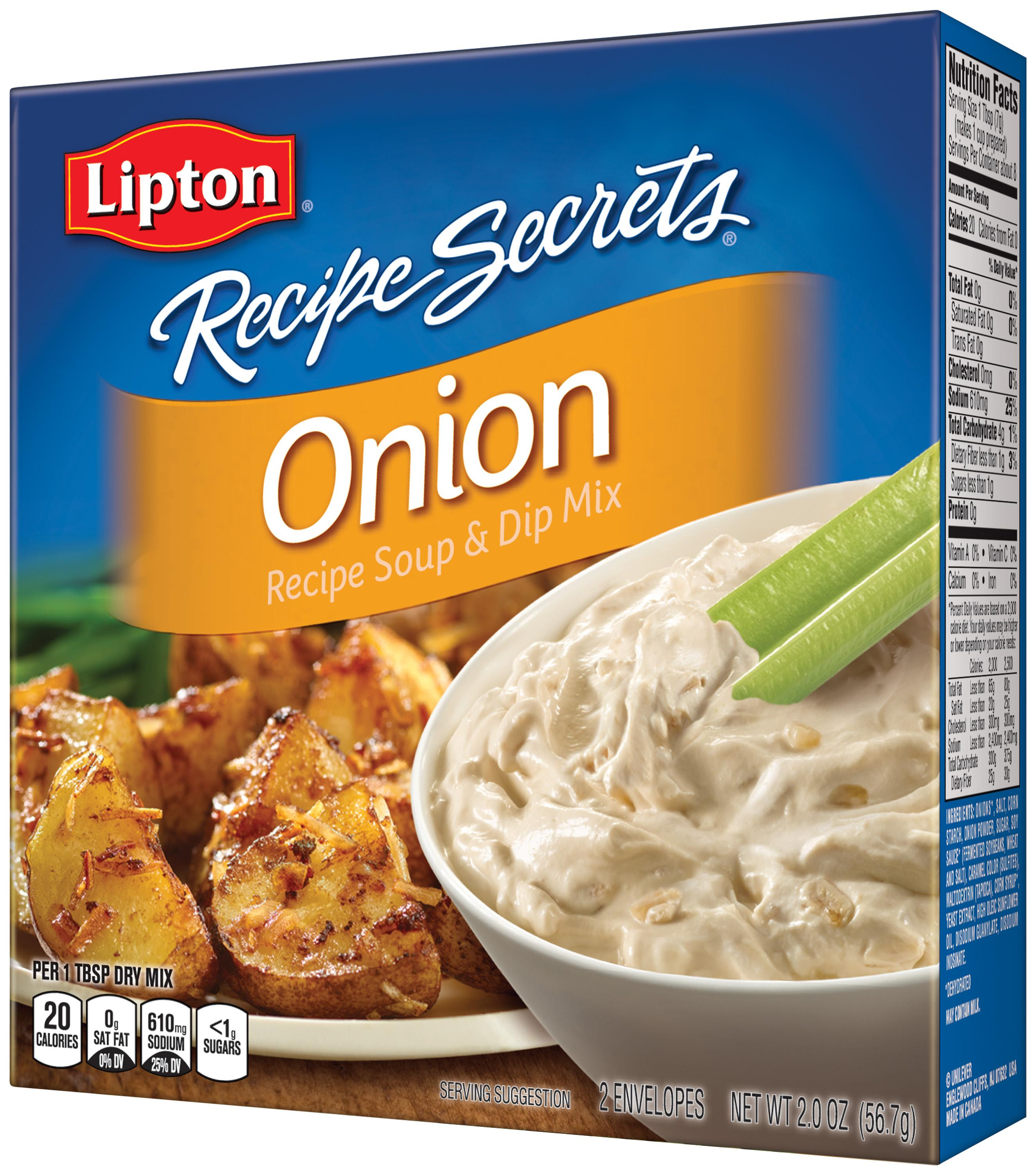 lipton recipe secrets soup and dip mix onion 2 0 oz prime pantry. Black Bedroom Furniture Sets. Home Design Ideas