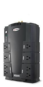 CP800AVR Battery Backup UPS