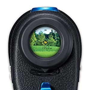 Golfer's view, precise ranging, Nikon COOLSHOT 80i VR, Vibration Reduction, Laser Range Finder