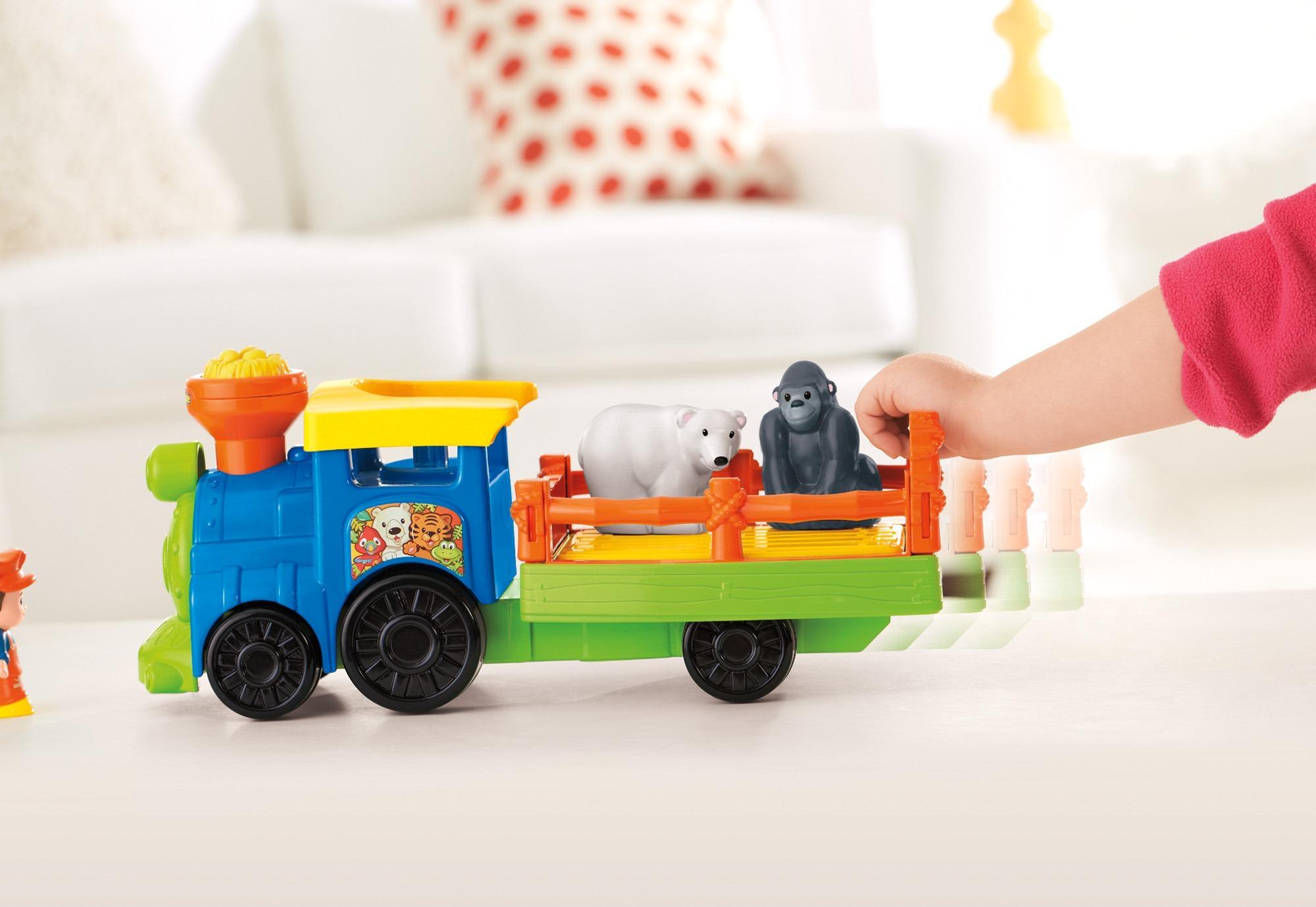 Amazon.com: Fisher-Price Little People Choo-Choo Zoo Train: Toys & Games