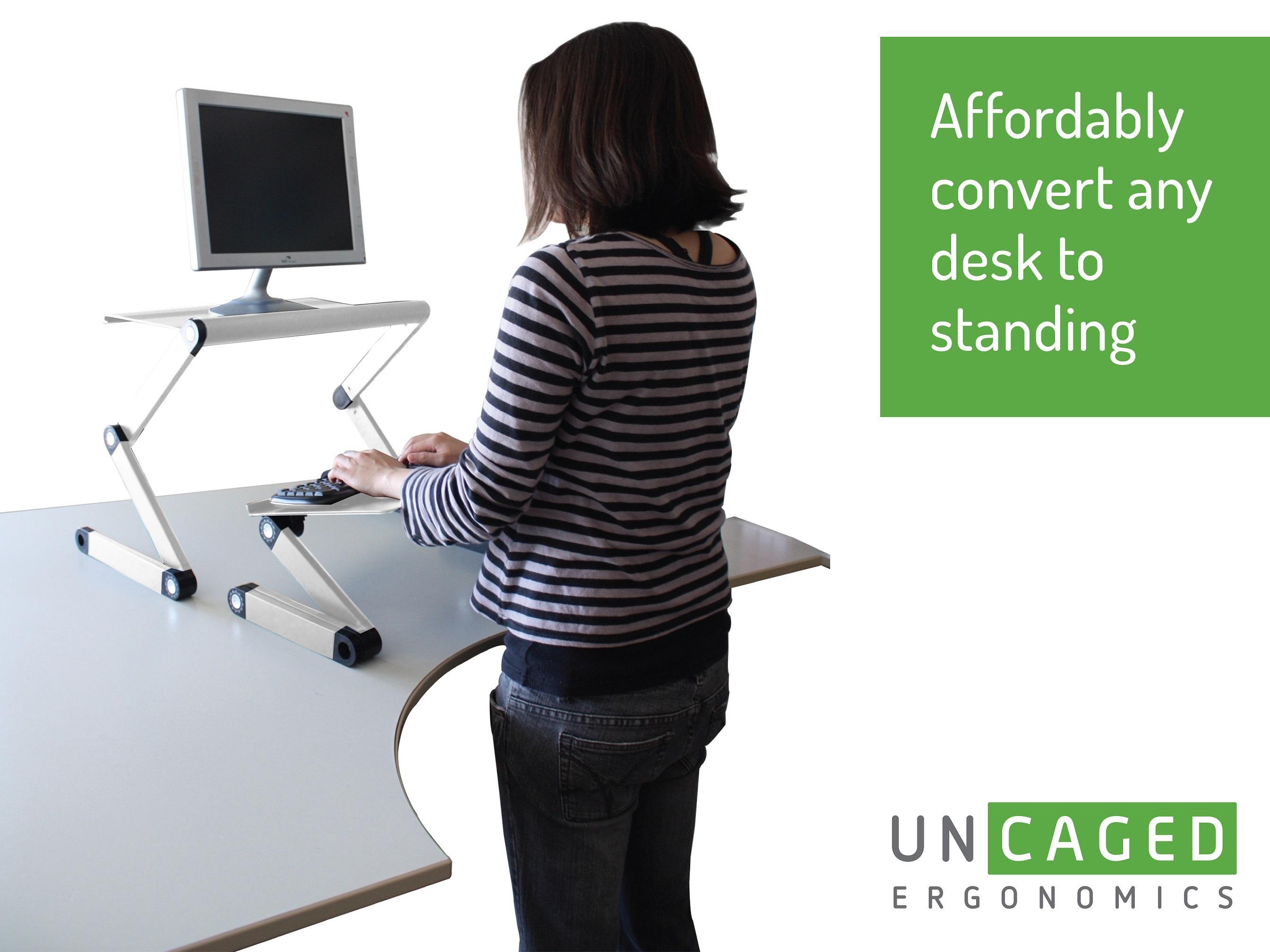 Amazon Com Workez Standing Desk Conversion Kit