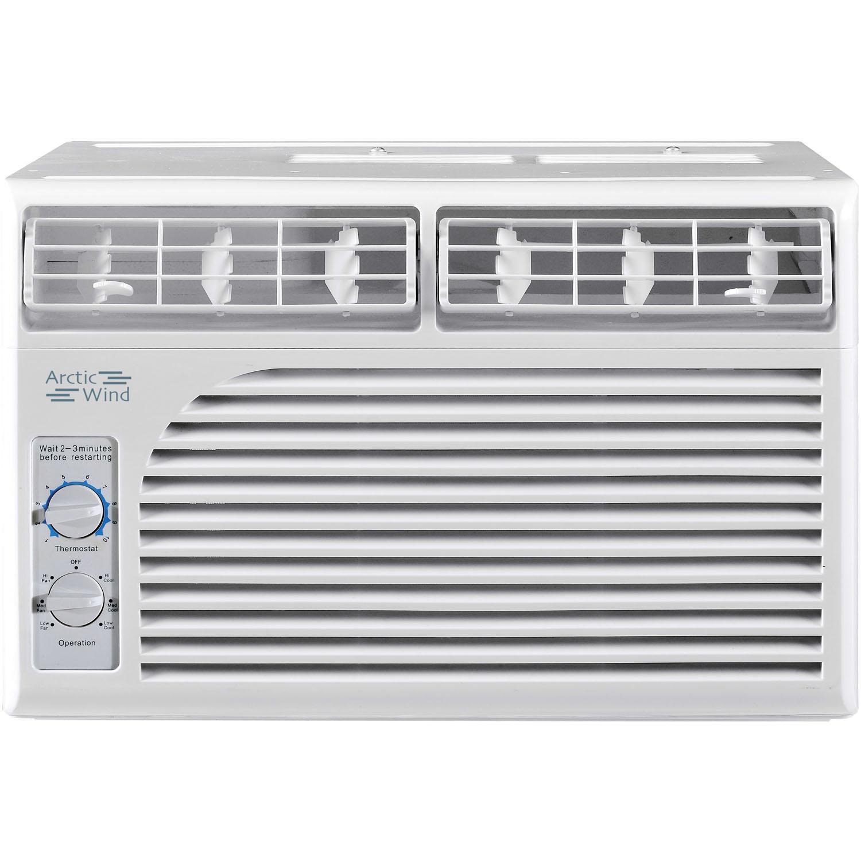 Amazon Com Arctic Wind 5 000 Btu Window Air Conditioner