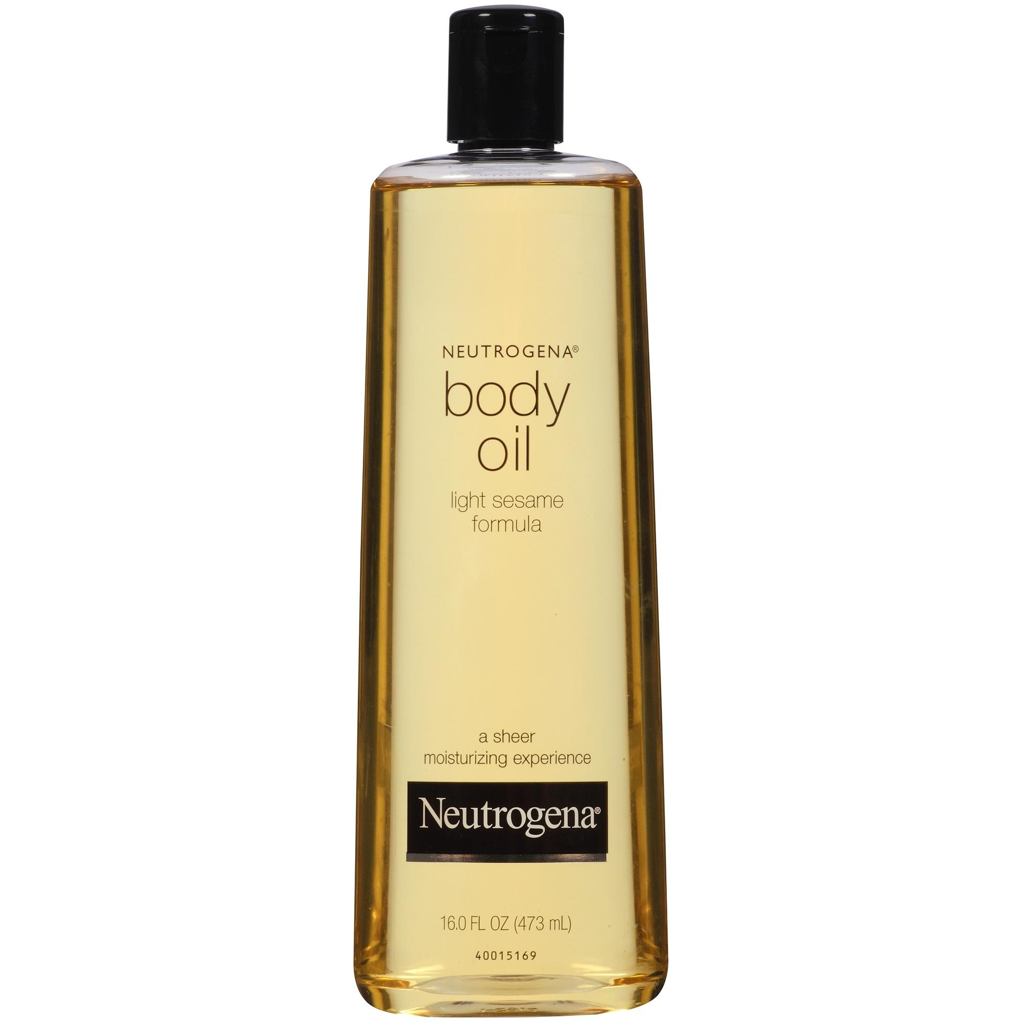 Amazon Com Neutrogena Body Oil Light Sesame Formula