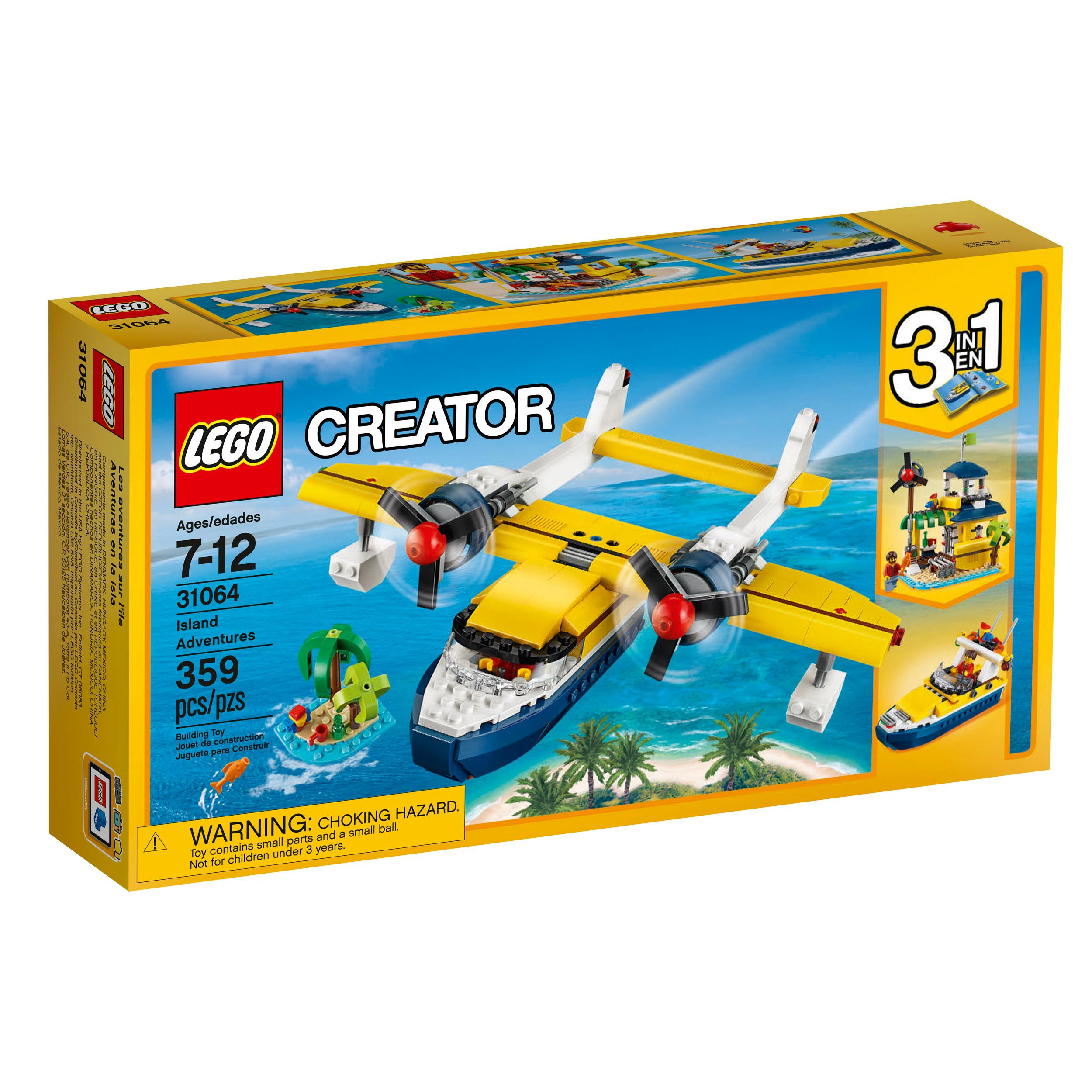 lego creator island adventures 31064 cool toy. Black Bedroom Furniture Sets. Home Design Ideas