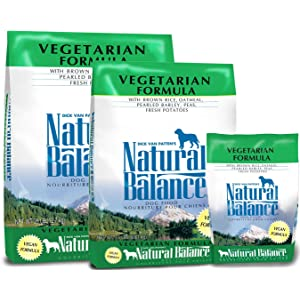 dry vegetarian dog food