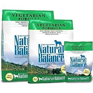 dry vegetarian dog food
