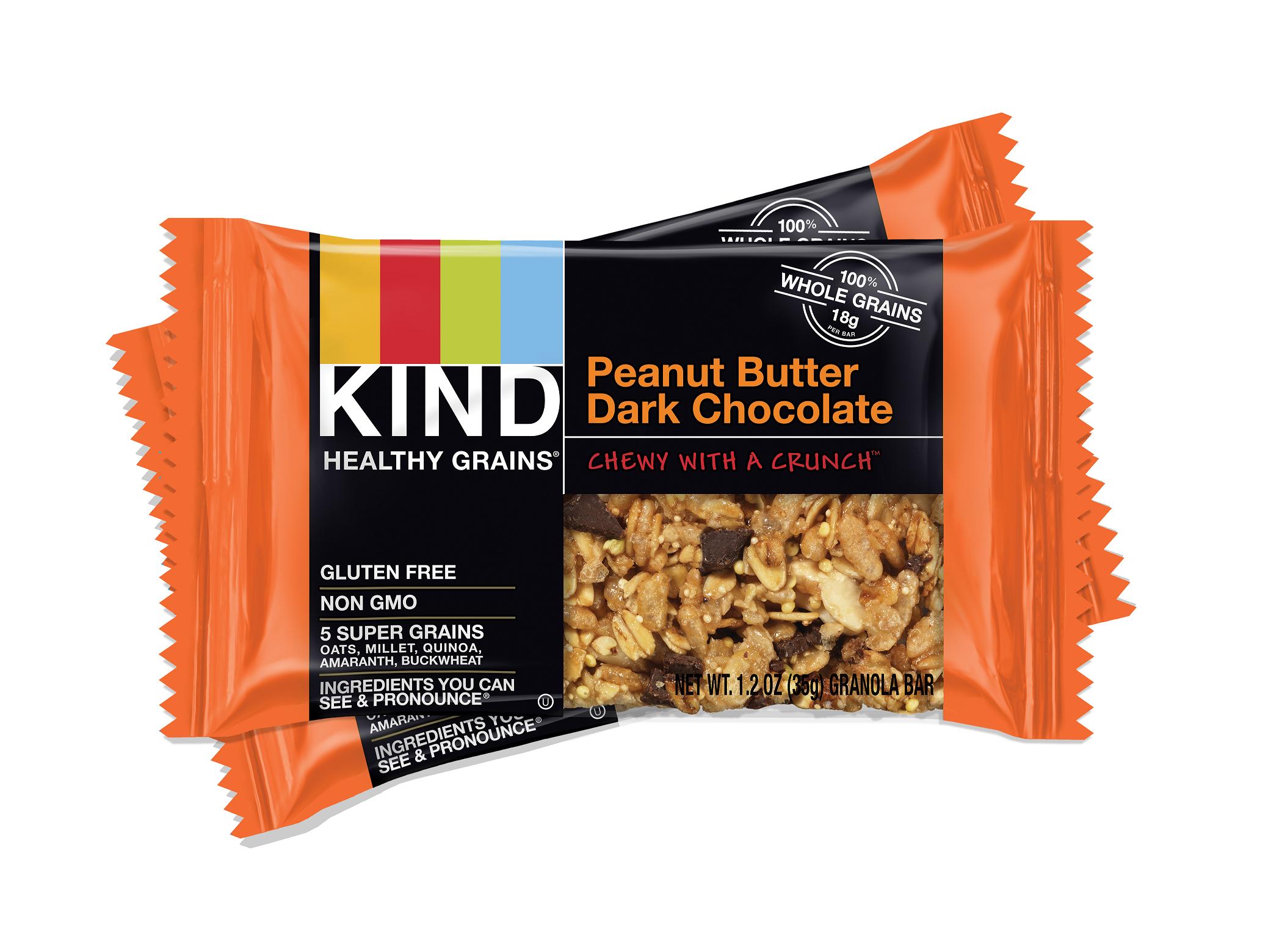 KIND Healthy Grains Bars - Peanut Butter Dark Chocolate - 1.2 oz ...