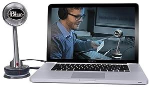 Blue Microphones NESSIE Adaptive USB Condenser Microphone, Cardioid