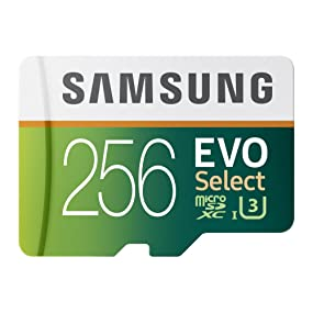Samsung 256GB EVO Select microSDXC Memory Card