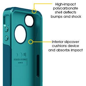 Otter Box iPhone 4 4S Commuter Series Case Purple White by Otterbox