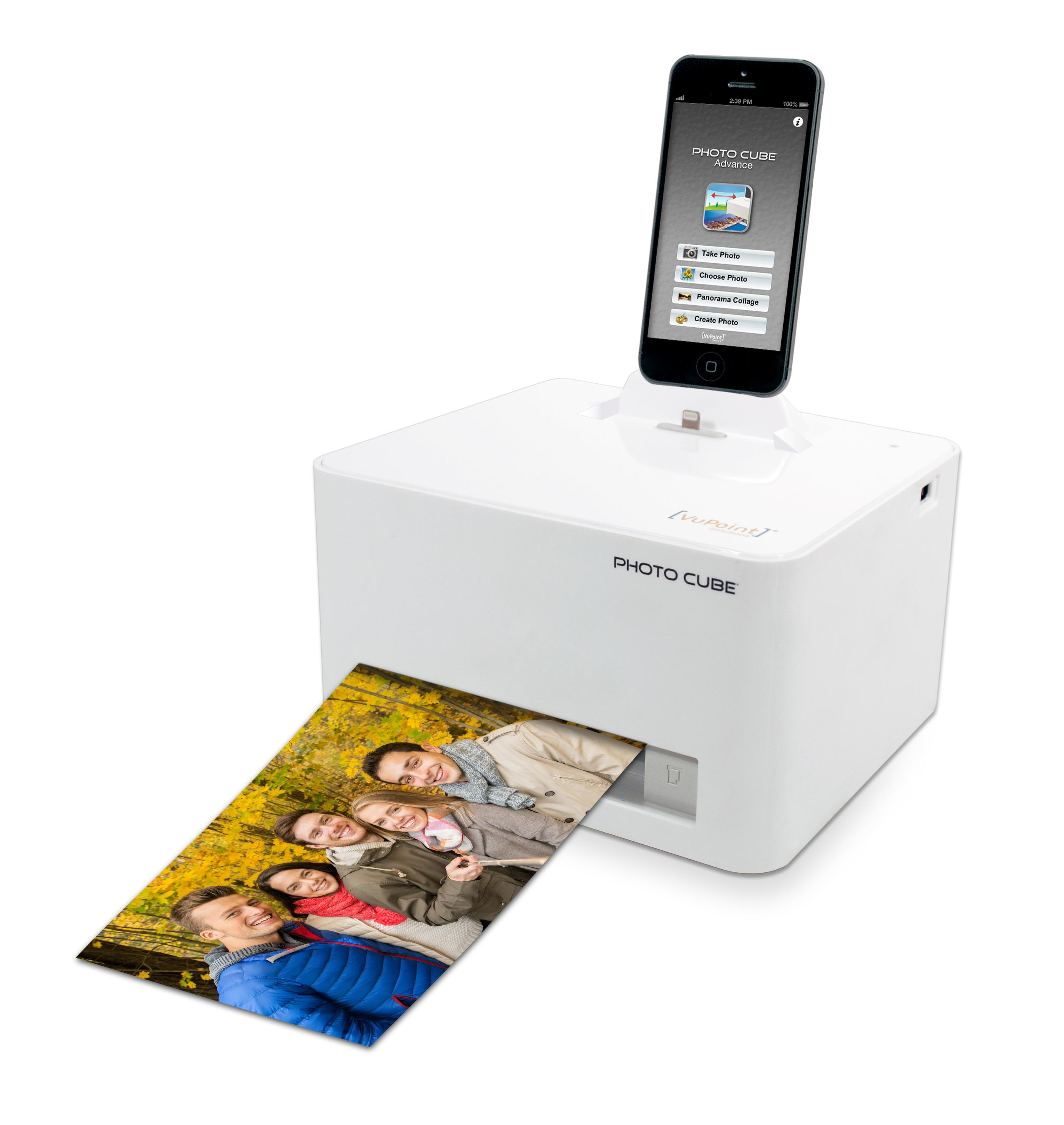 Amazoncom Vupoint Solutions Photo Cube With Lightning Connectors
