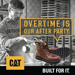 b75655bf7e6 Caterpillar Men's Second Shift Steel Toe Work Boot