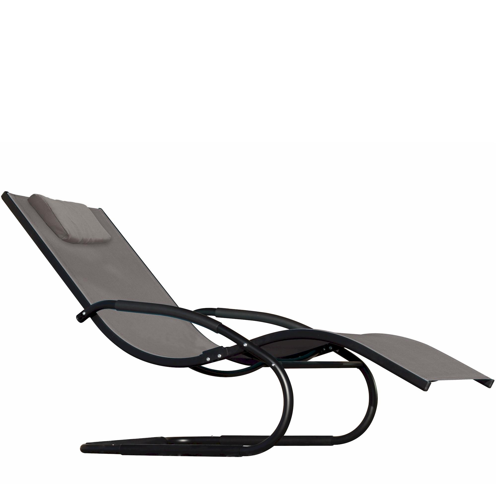Wave chaise bed price - View Larger