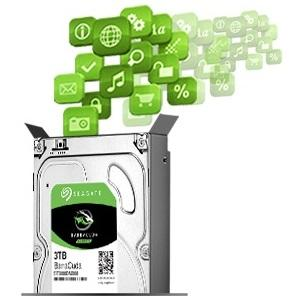 "Seagate 3TB BarraCuda SATA 6Gb/s 64MB Cache 3.5"" Internal Hard Drive ST3000DM008 4"