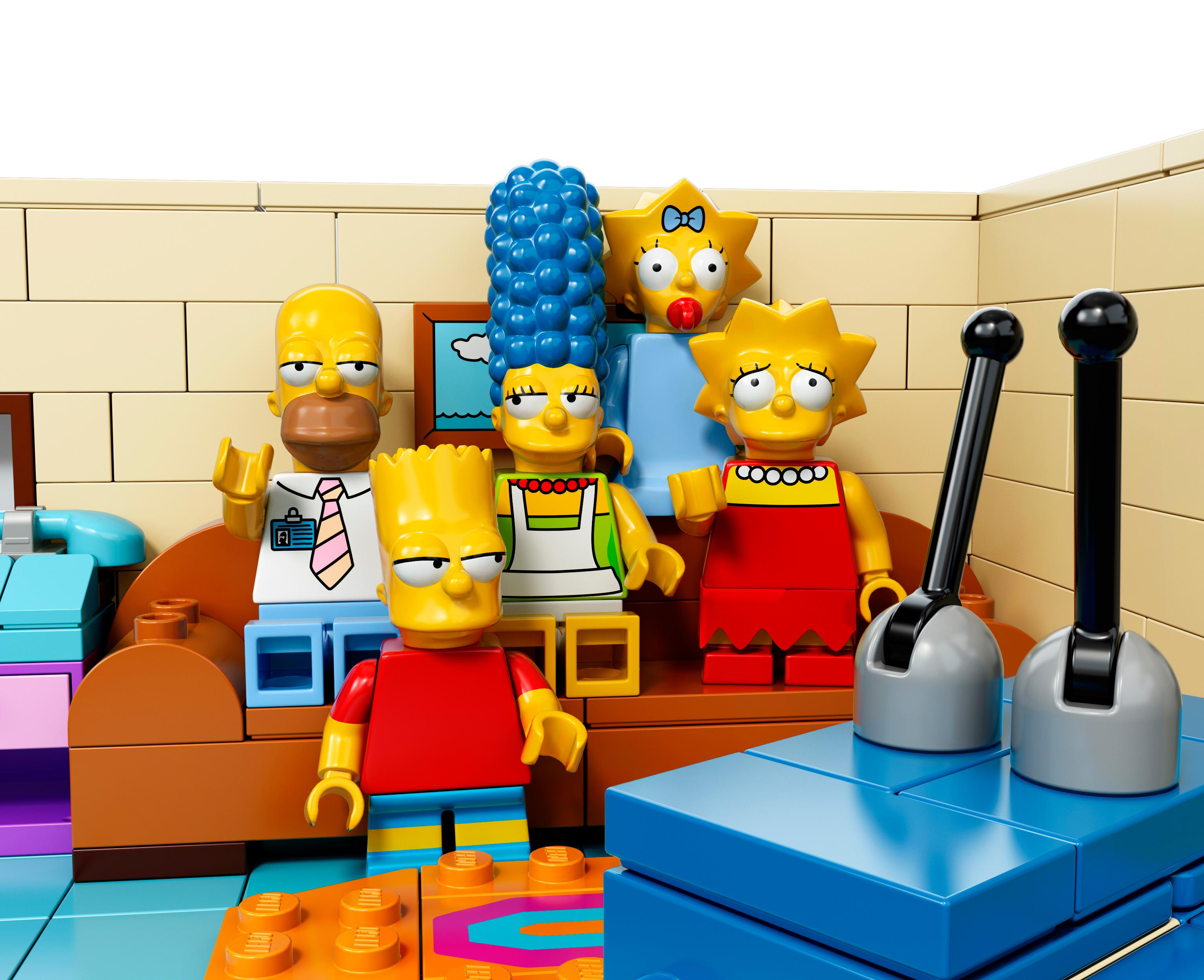 Amazon.com: LEGO Simpsons 71006 The Simpsons House: Toys & Games