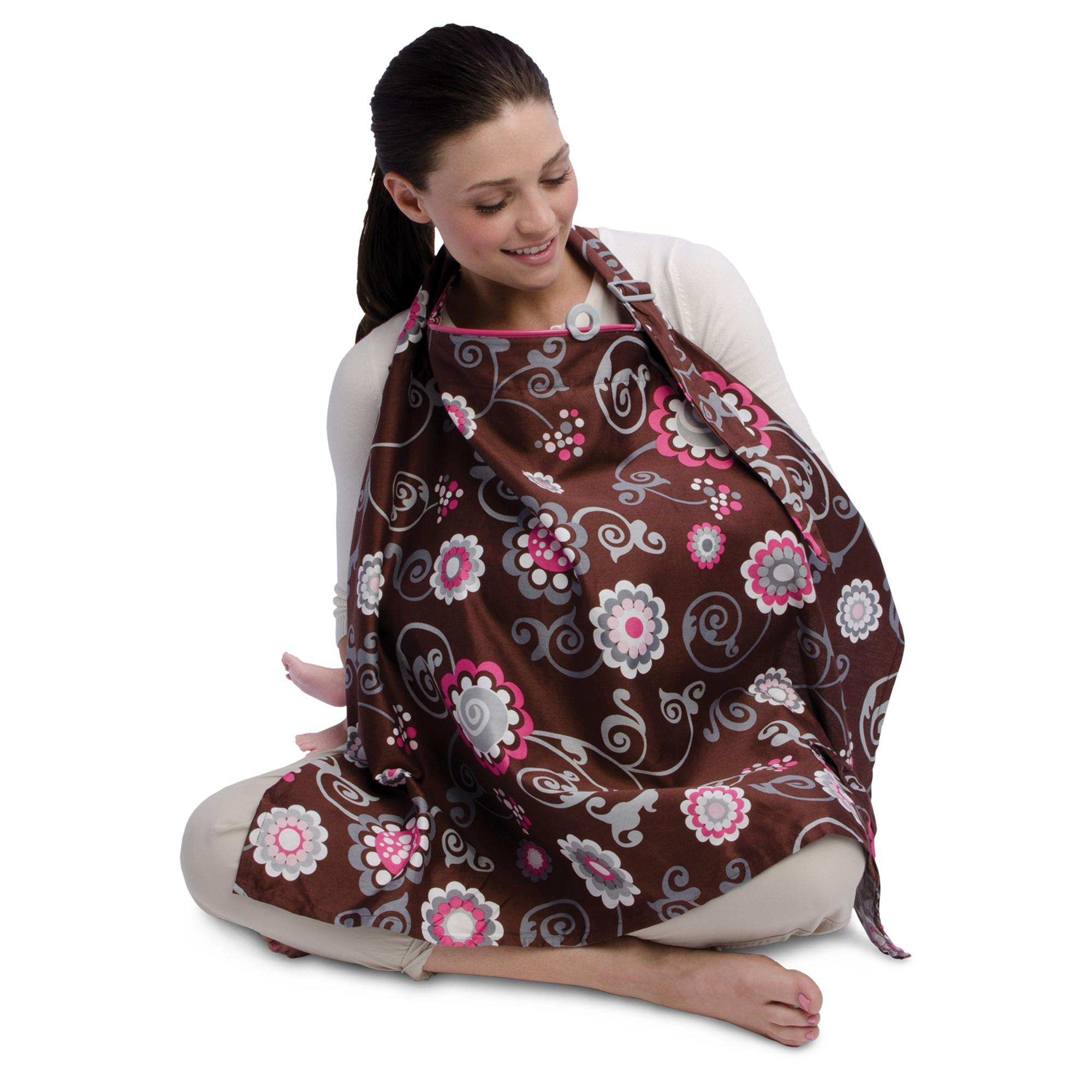 amazon com boppy nursing cover olivia floral discontinued by view larger