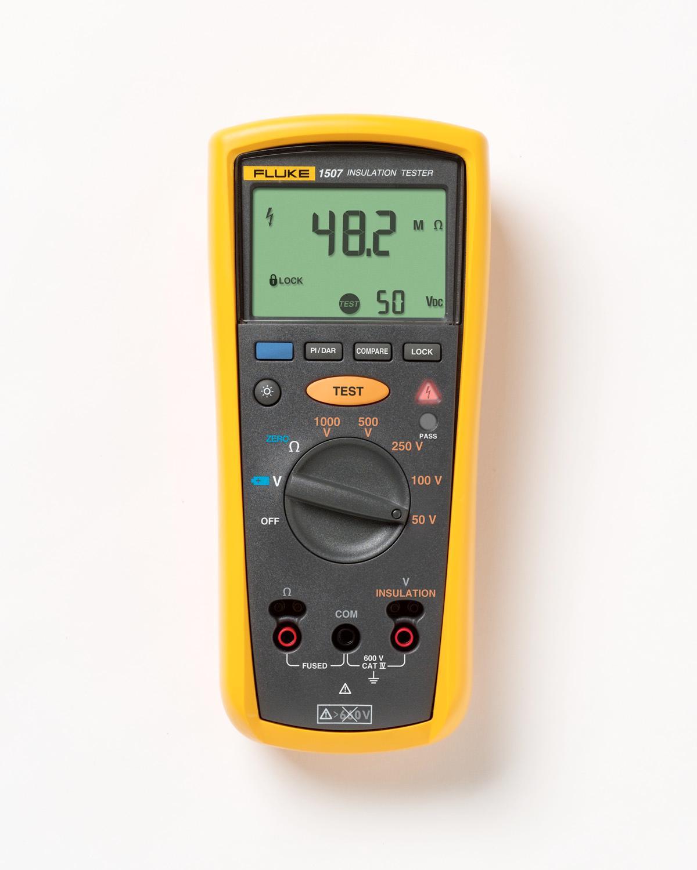 Fluke Insulation Resistance Tester : Fluke digital megohmmeter insulation resistance