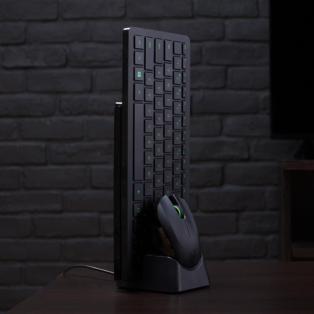 Razer turret lapboard gaming grade mouse and for Living room keyboard and mouse