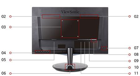 "Amazon.com: ViewSonic VX2457-MHD 24"" 2ms 1080p FreeSync Gaming Monitor"