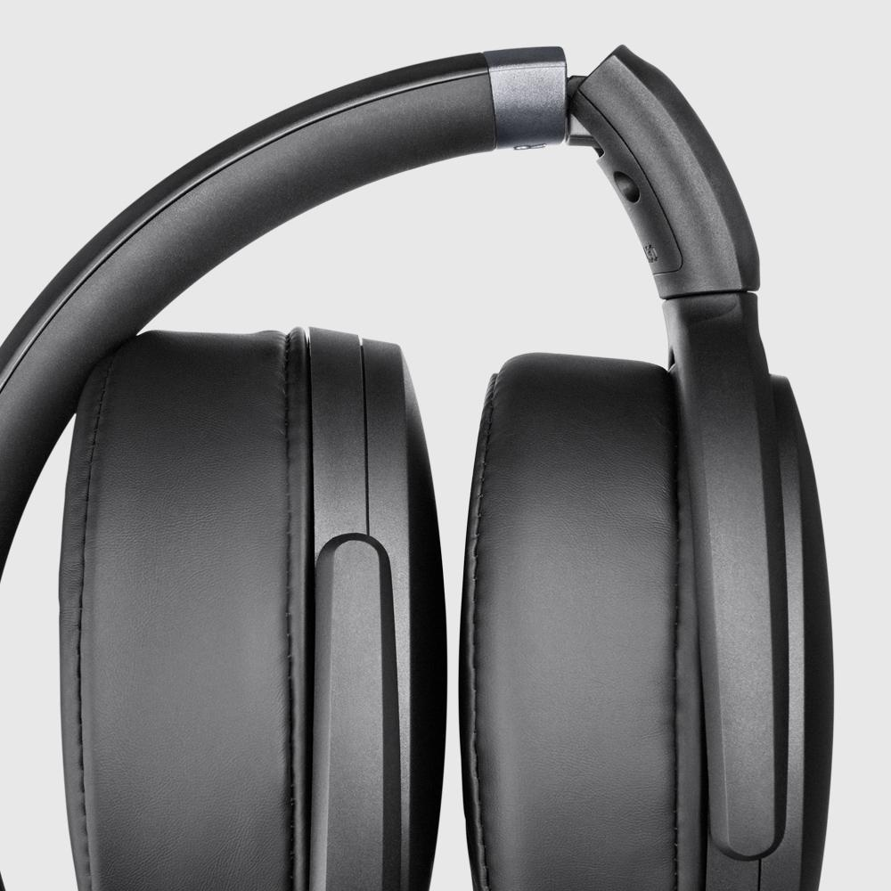 sennheiser over ear headphones with mic around ear headphones hd black. Black Bedroom Furniture Sets. Home Design Ideas