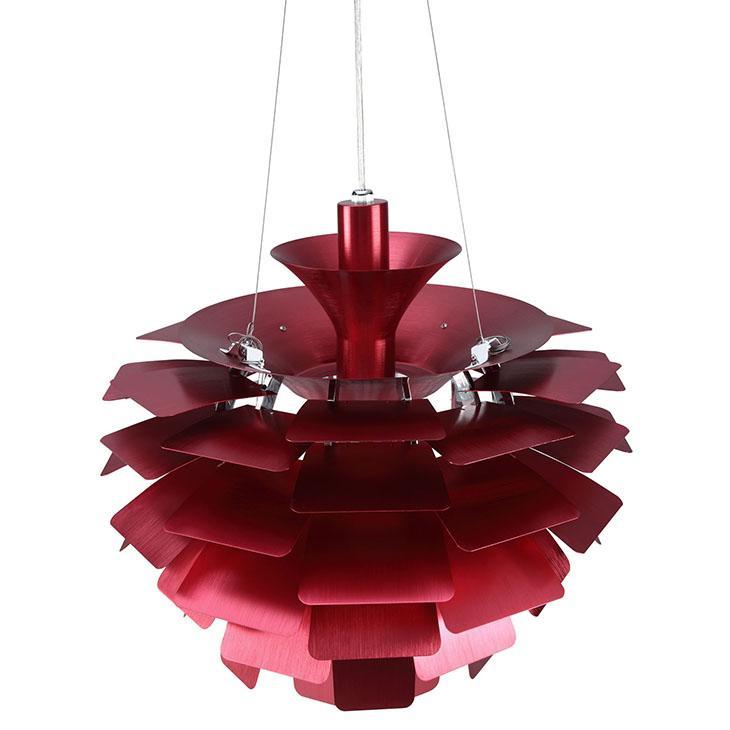 Red Artichoke Chandelier: Amazon.com: Modway 24-inch Artichoke Style Chandelier