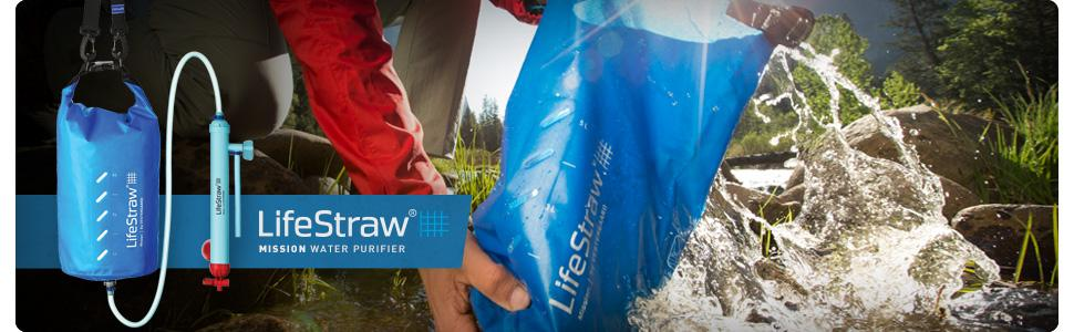 Life Straw Mission Water Purifier in 5L or 12L capacity. Perfect for emergency & survival prep.