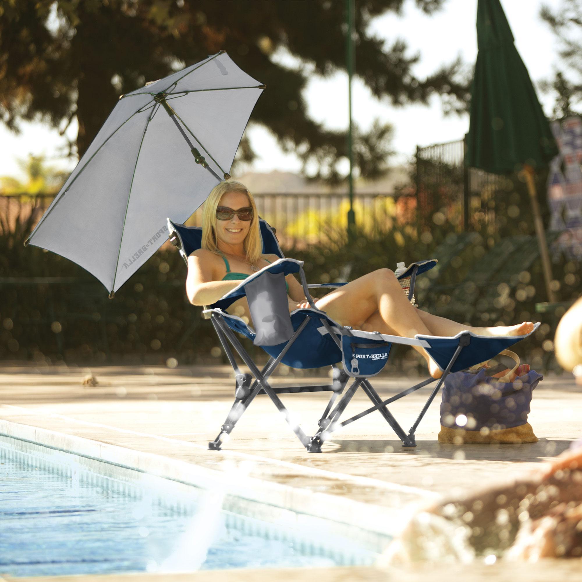 Amazon Com Sport Brella 3 Position Recliner Chair With