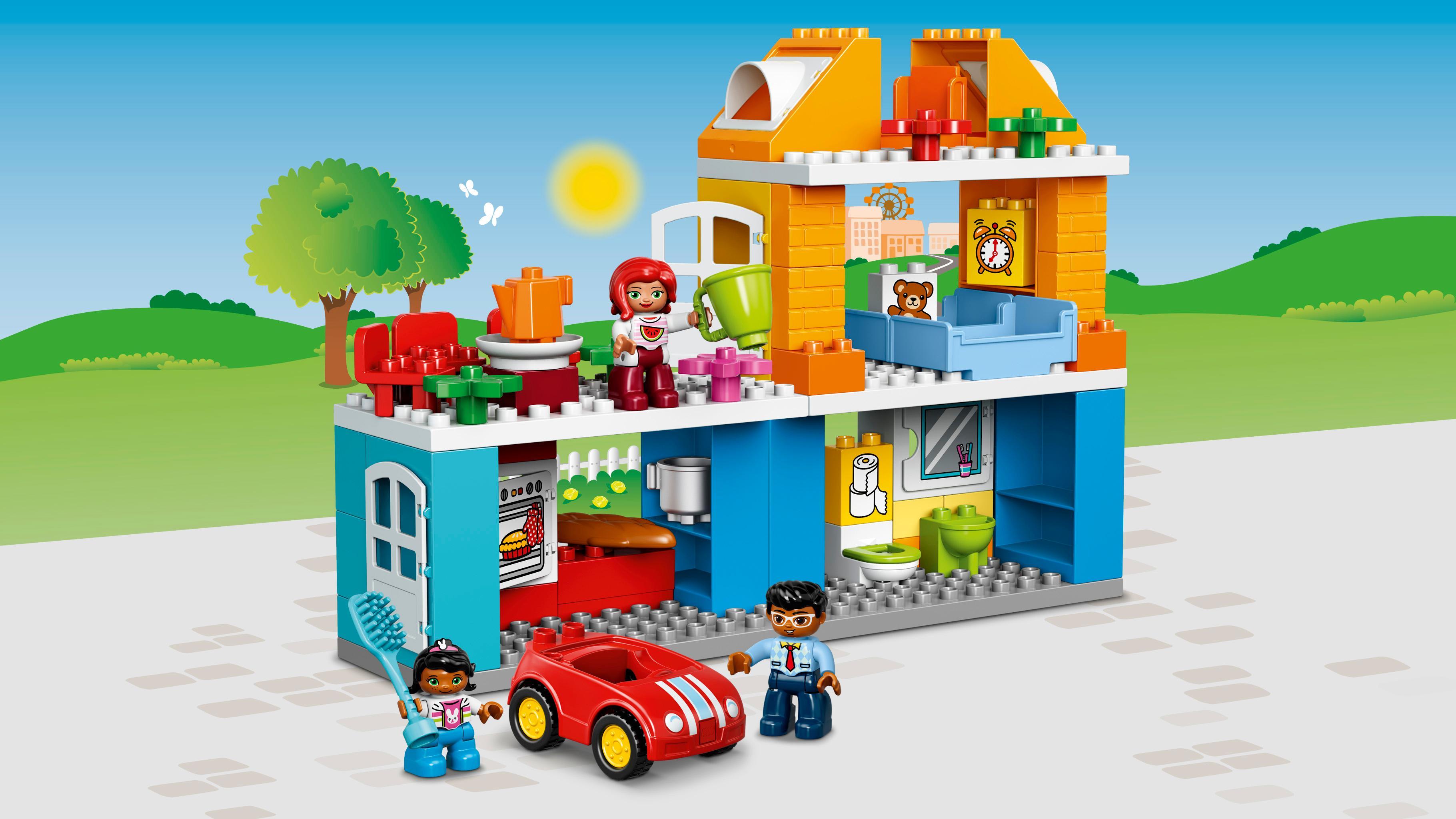 Toys For Legos : Amazon lego duplo my town family house building