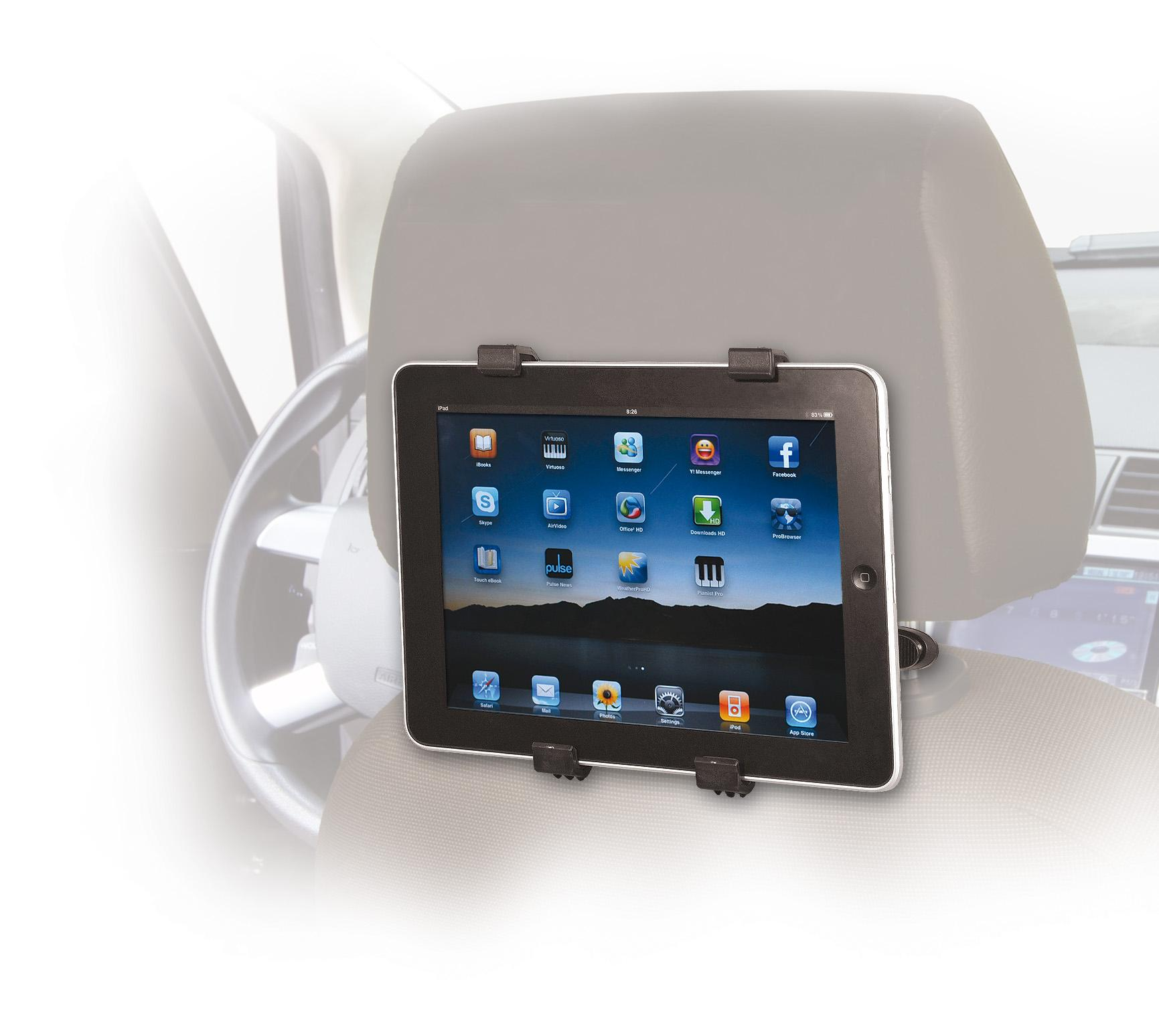 Amazon.com: SIIG Headrest Car Mount for iPad (CE-MT0E12-S1 ...