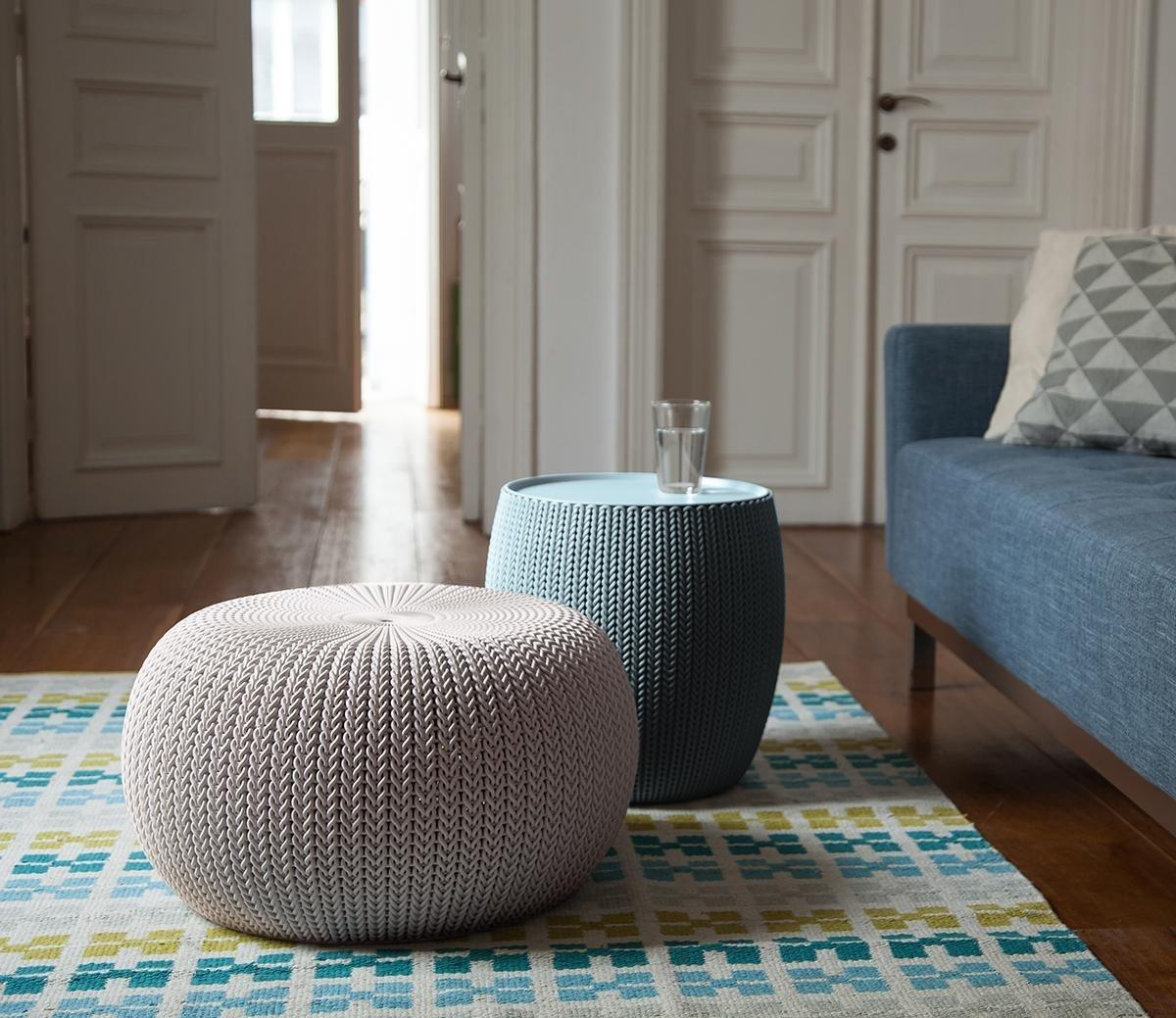 Amazon Com Keter 3 Piece Cozy Urban Knit Furniture Set