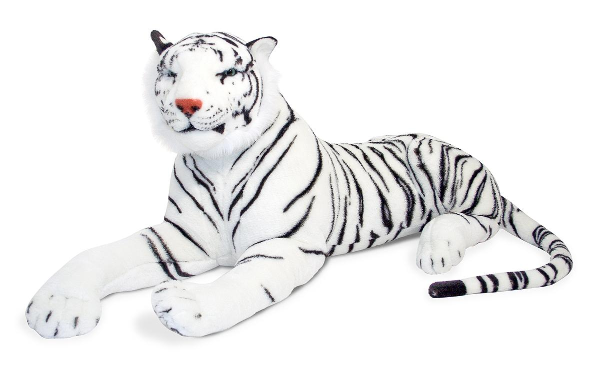 Amazon.com: Melissa & Doug Giant Siberian White Tiger