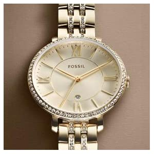 Fossil Women's ES3545 Jacqueline Stainless Steel Watch: Fossil