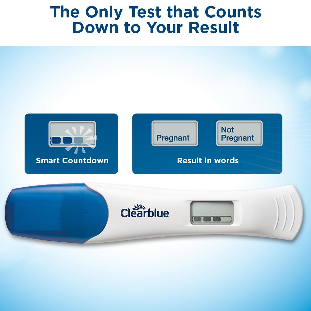 Amazon.com: Clearblue Digital Pregnancy Test with Smart