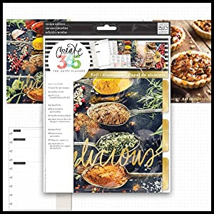 happy planner recipe extension pack