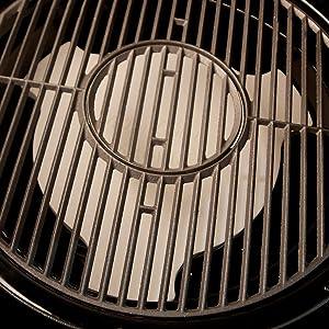 heat deflector, akorn