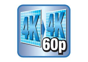 See More Detail with 4K/60p Pass-through