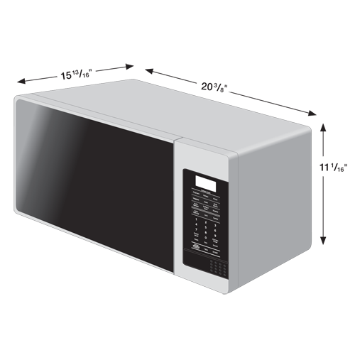 Countertop Microwave Grill : Amazon.com: Samsung MG11H2020CT 1.1 cu. ft. Countertop Grill Microwave ...