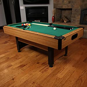 Mizerak Dynasty 6.5 Feet Space Saver Billiard Table