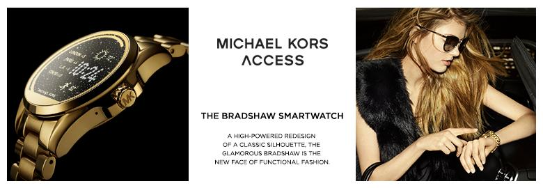 michael kors access touch screen blue bradshaw. Black Bedroom Furniture Sets. Home Design Ideas