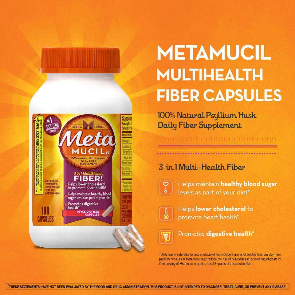 how to take fiber capsules
