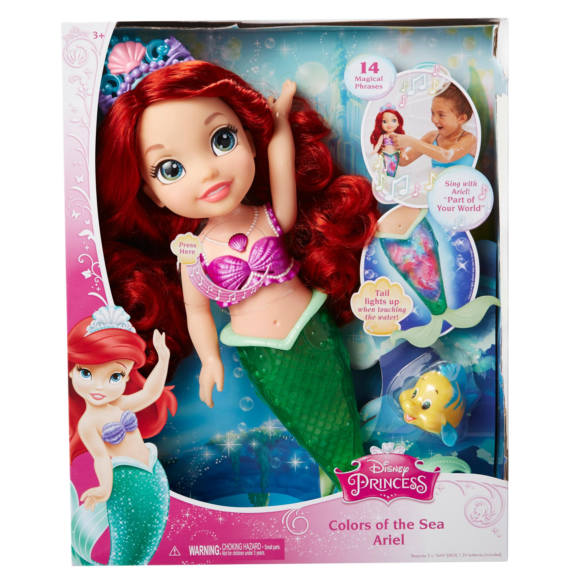 Amazon.com: Disney Princess Colors of the Sea Ariel Doll