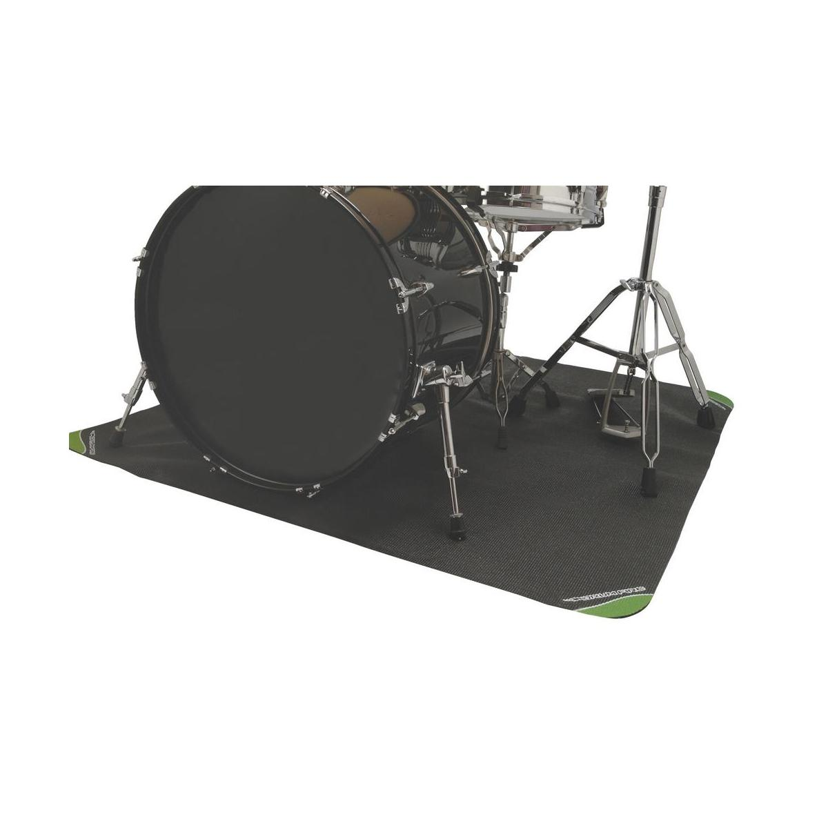 on stage dma4450 drumfire non slip drum mat with bag 4 39 x 4 39 musical instruments. Black Bedroom Furniture Sets. Home Design Ideas