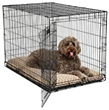 Taupe to Mocha Ombre Pet Bed in Crate