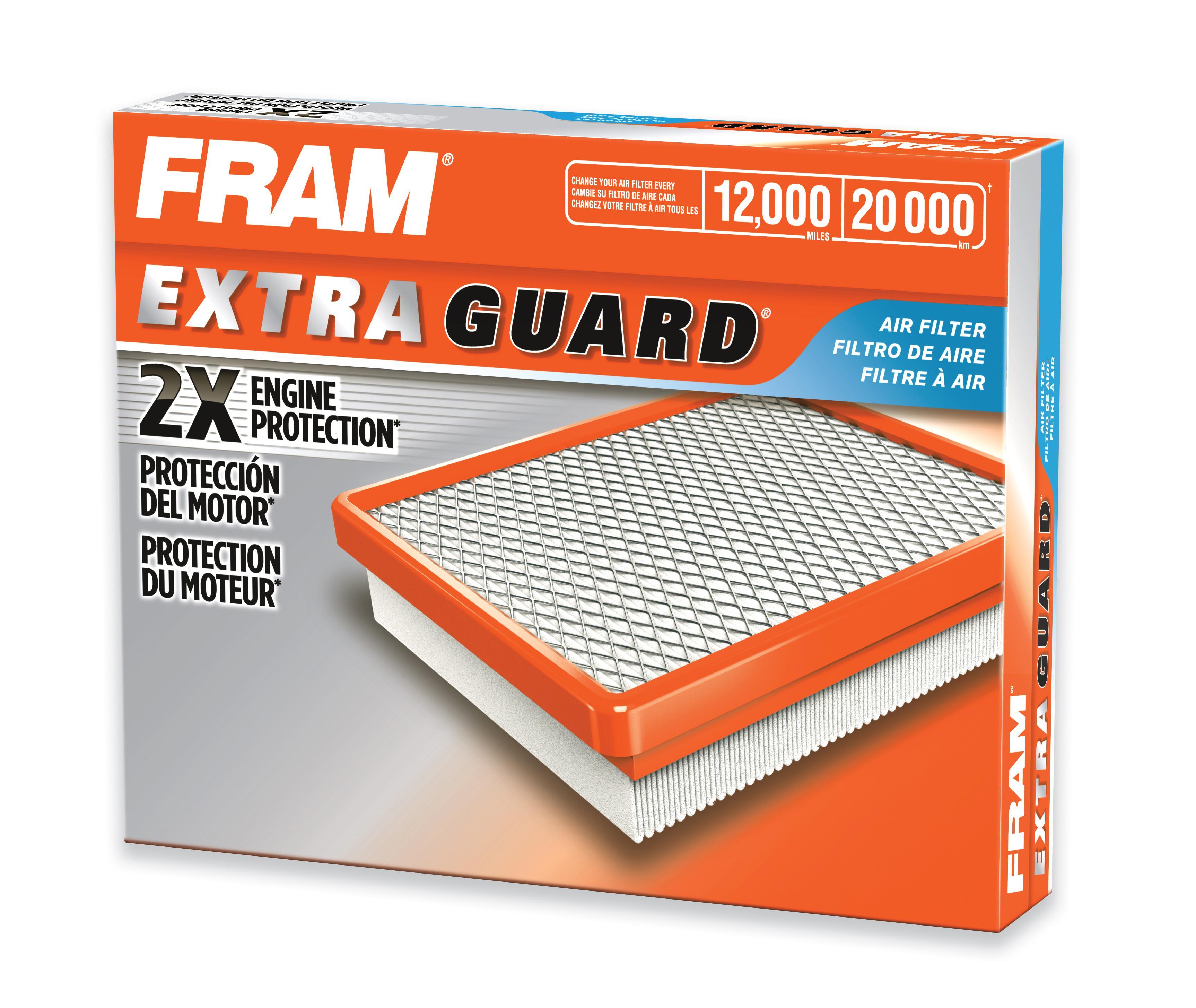 amazon com fram ca10551 extra guard panel air filter automotive rh amazon com fram cabin filter size chart fram cabin filter size chart