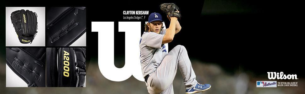 kershaw; clayton kershaw; a2000; wilson; game model; baseball; baseball glove; glove; pitcher