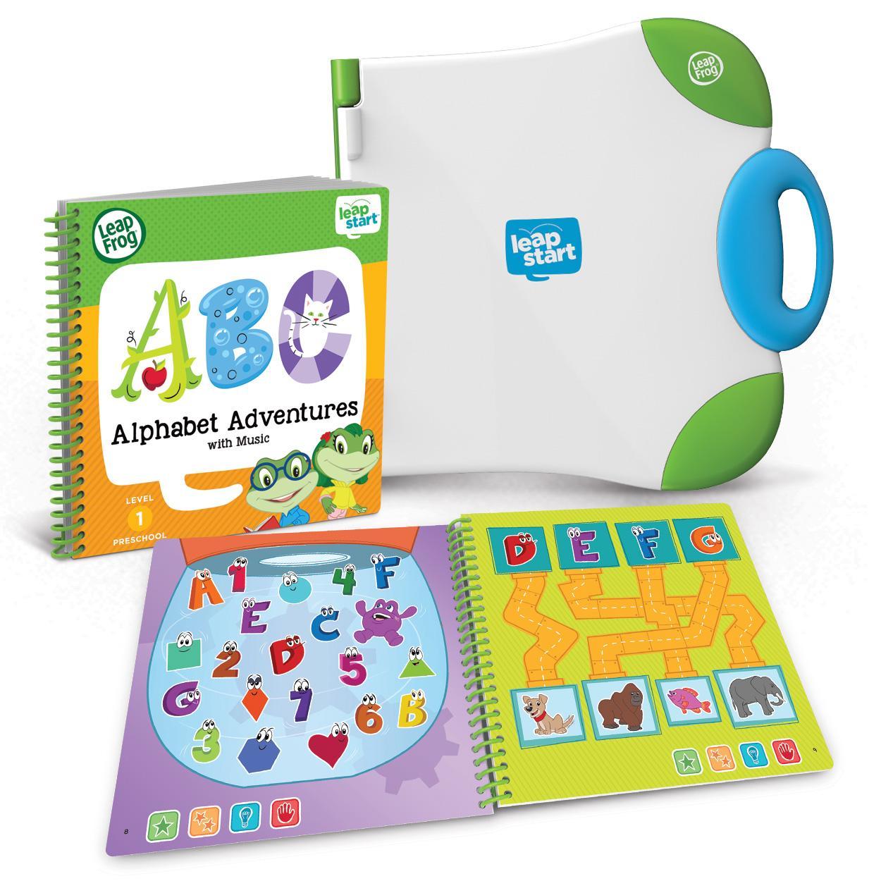 leapfrog preschool leapfrog leapstart preschool activity book alphabet 635